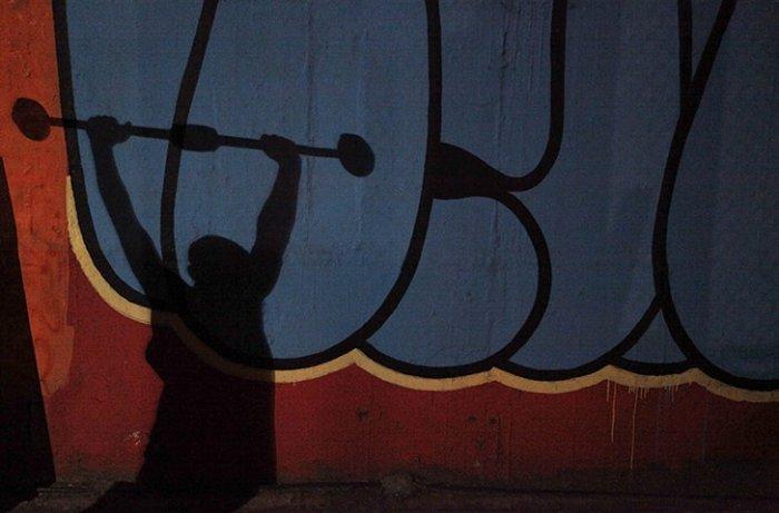 Боксёрская школа под мостом в Сан-Пауло (Фотографии)